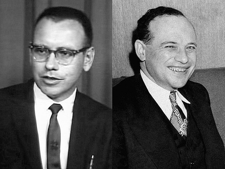 Бенджамин Грэм и Уоррен Баффетт