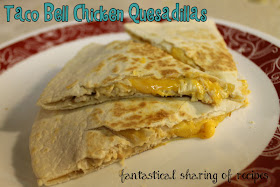 Taco Bell Chicken Quesadilla (Copycat) #copycat #chicken #tacobell #recipe