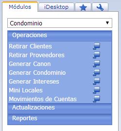 Módulo de Condominios - Productos Web de eFactory: ERP/CRM, Nómina, Contabilidad, Punto de Venta, Productos para Móviles y Tabletas