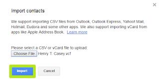 """Click """"Import"""""""