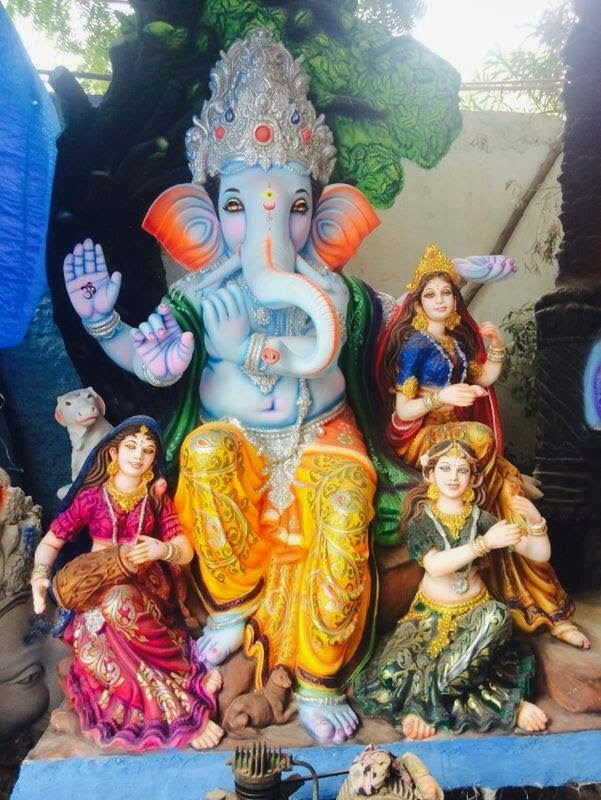 Ganesh Chaturthi Wallpapers 3d Ganesh Visarjan 2014 Nimajjanam Live Updates Vinayaka