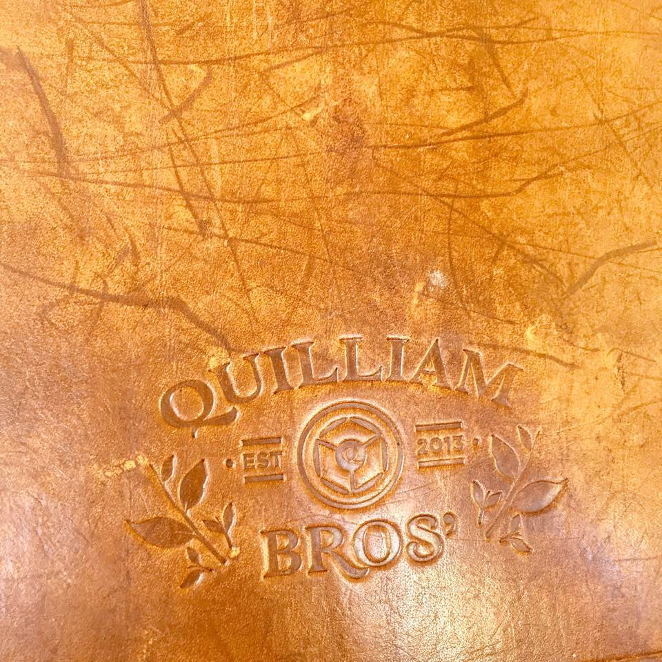 Quilliam Brothers Teahouse   Newcastle - Lunch Menu Review - Tea Menu