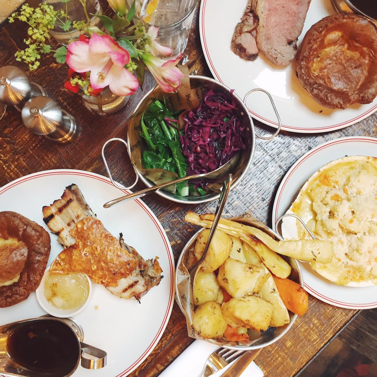 MeatUp Wandsworth, Sunday roast