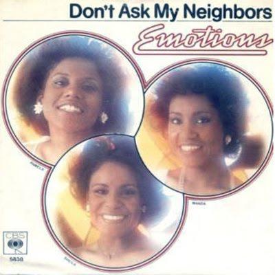 ORIGINS :: The Emotions - Don't Ask My Neighbors (1977) (@DanesWilliams @FreddieGibbs)