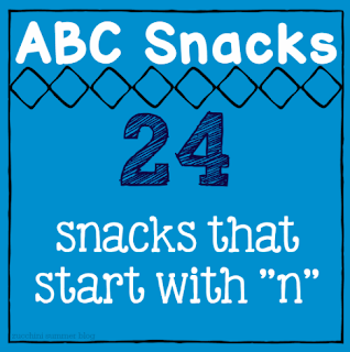 letter of the week snacks, preschool snack, kindergarten snack, zucchini summer blog
