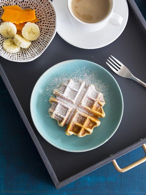 El gato goloso: los waffles (gofres) gluten free que estabas esperando
