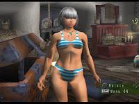 Download Mod Texture Female Cloth [Stip Blue Bikini] MHFU For Emulator PPSSPP
