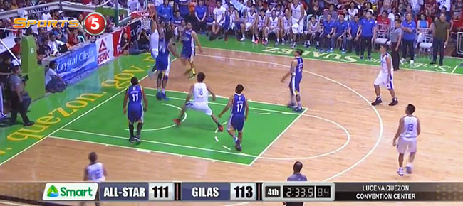 Gilas Pilipinas def. PBA Luzon All-Stars, 122-111 (REPLAY VIDEO) April 28