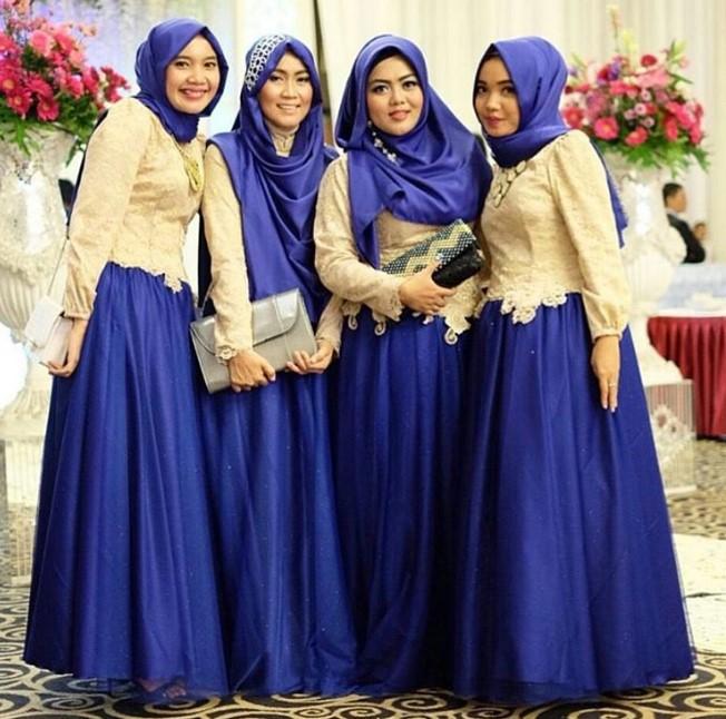 10 Contoh Model Baju Kebaya Gamis Simpel Modern Modelkebayamodern