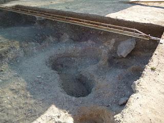 Necrópolis. Excavaciones actuales