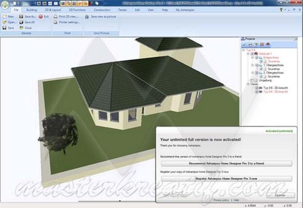 Softwaresvilla Ashampoo Home Designer Pro 3 Full Crack Is Here