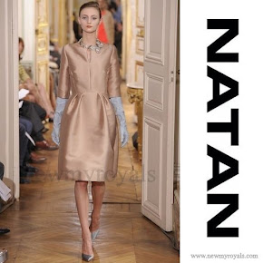 Maxima wears NATAN Dress