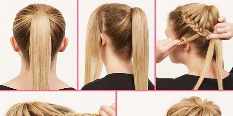 Ballerina Bun Updos For Long Hair Hairstyle Tutorial