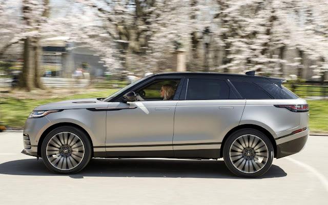 Range Rover Velar: tabela de preços - Brasil