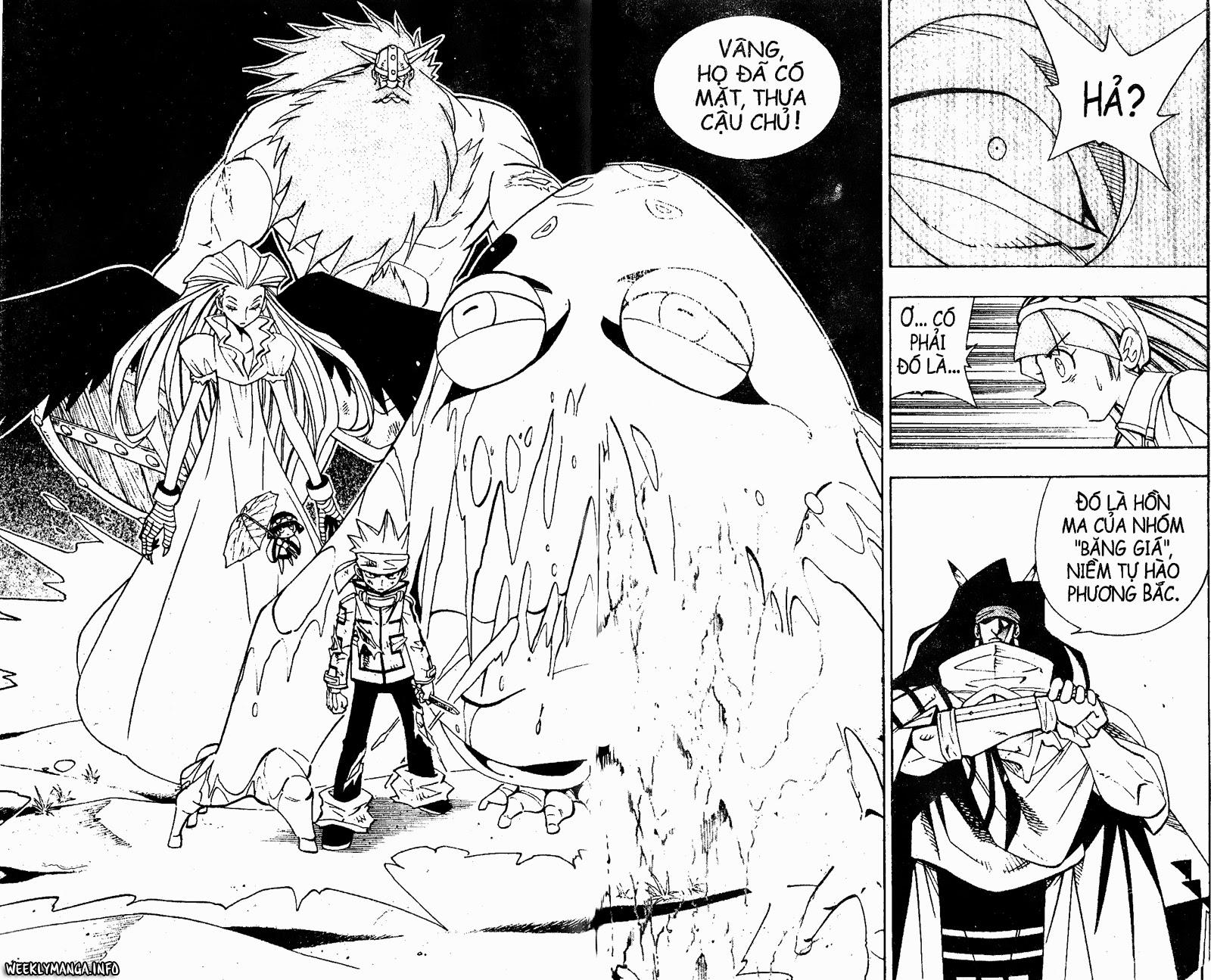 Shaman King [Vua pháp thuật] chap 184 trang 13