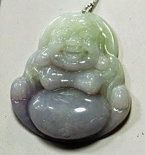 Carved jadeite jade jewelry designer made