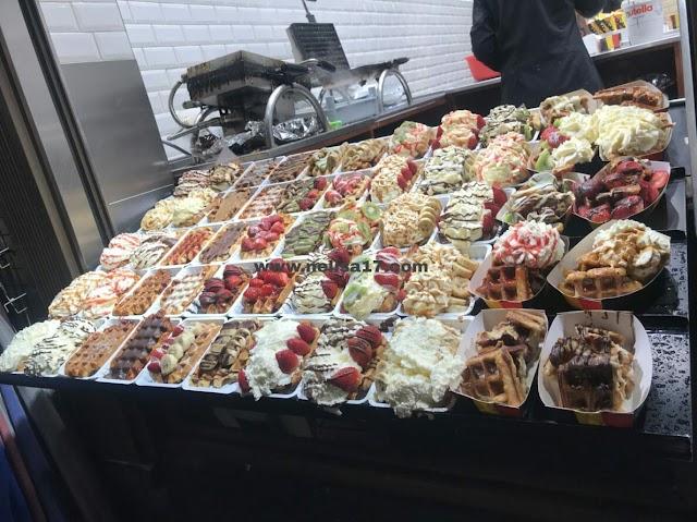 Wafel Belgia, Makanan Khas Sangat Digemari