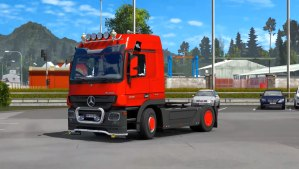 Mercedes Actros MP3 Reworked mod 1.5