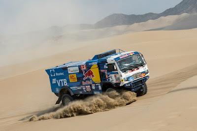 Time de Nikolaev vence especial do Dakar nos caminhões