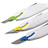 PenBlade - 3 Pack Stainless Steel Craft Knives
