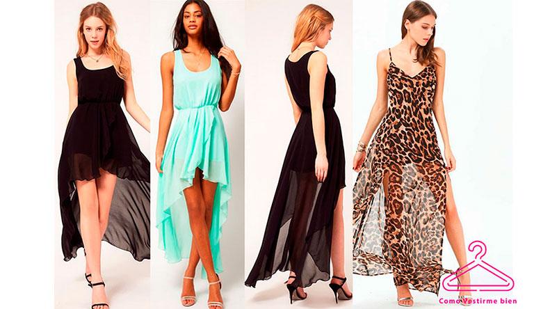 f2bd1d9b2 Vestidos de gasa para fiestas como vestir - Como vestirse para una fiesta  ibicenca .