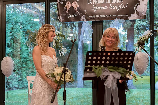 'A fairytale without the prince': Italian woman 'marries herself'