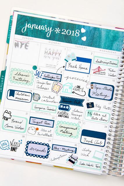 How to Get the Most out of Your Planner's Monthly View