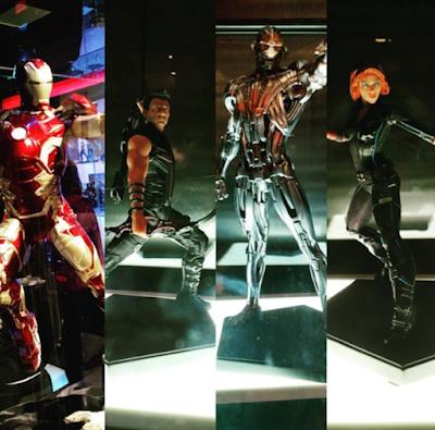Estátuas Vingadores Era de Ultron Iron Studios