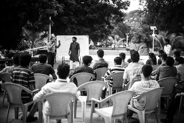 "NEWS | PDPU Ghandhinagar Kick Starts ""South Block"", An Inter-disciplinary IR Club"