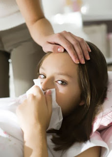 Лекарства при гриппе и простуде у детей