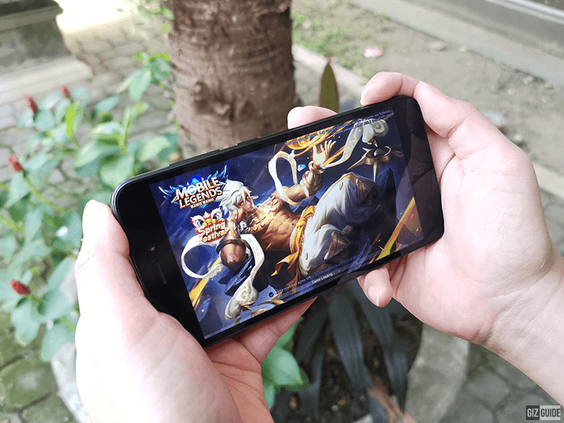 Mobile Legends: Bang Bang is playable in low settings