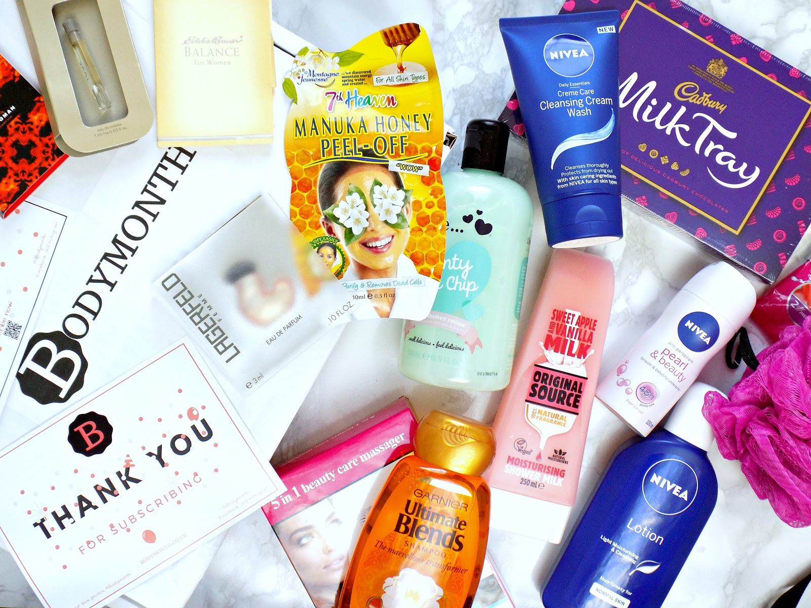 Bodymonth - body care subscription beauty box