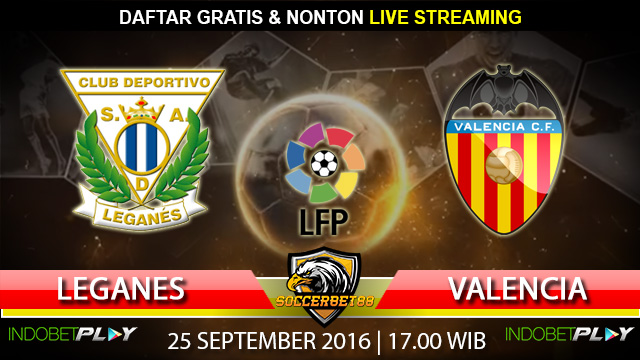 Prediksi Leganes vs Valencia 25 September 2016 (Liga Spanyol)