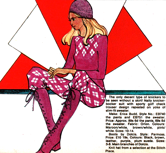 1970s fashion illustration