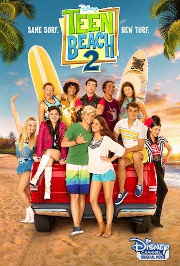 Teen Beach 2 (2015) 720p DVDScr x265 400MB