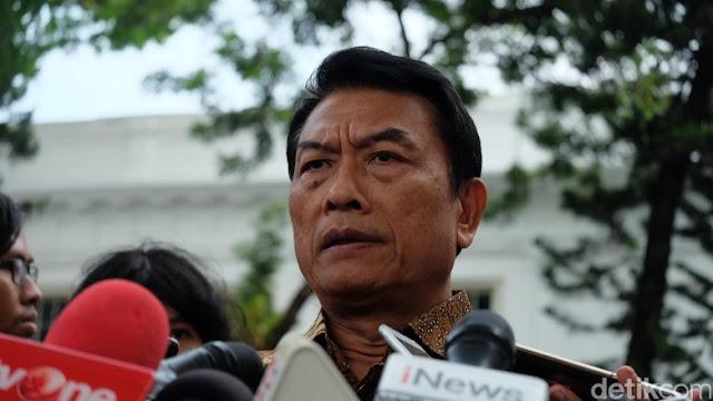 Foto Bareng Bos Asia Sentinel, Ini Penjelasan Moeldoko