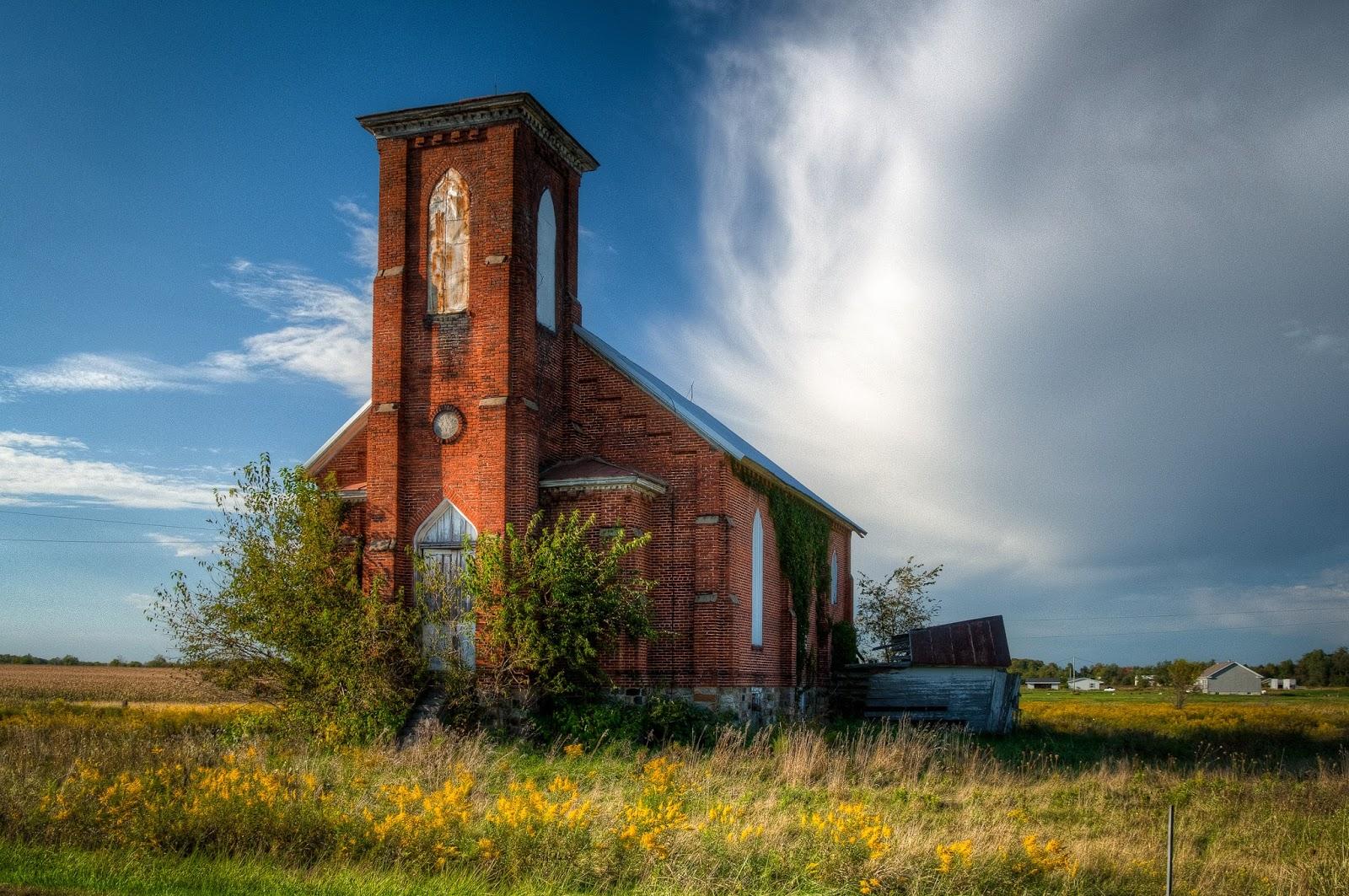 Little White Church In Nottawa Other Methodist Church