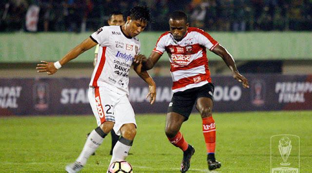 Bali United vs Madura United
