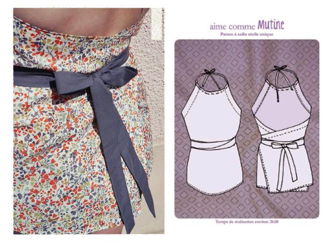 Très PATRON GRATUIT : Idées de couture facile pour l'été Bettinael  LS22