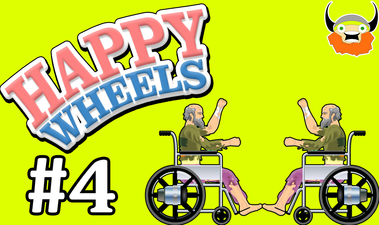 happy wheels anciano mapa troll