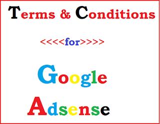t&c of google