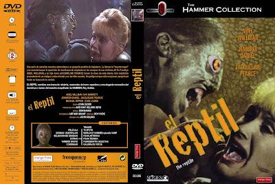 Carátula dvd: El reptil / The Reptile / Descargar / On line