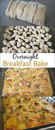 Sausage, Egg and Biscuit Breakfast Casserole - Food Fun Friday #EGG #BISCUITS #CASSEROLE #BREAKFAST