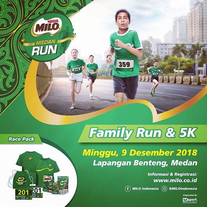 Milo Medan Run • 2018
