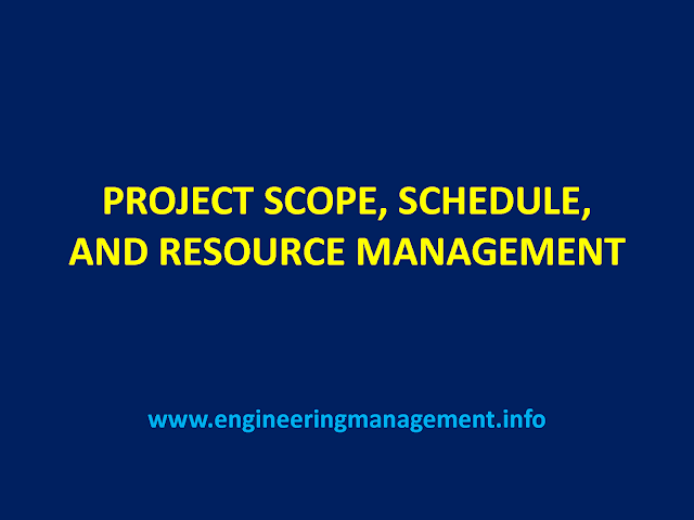 Download Project Scope, Schedule and Resource Management pdf