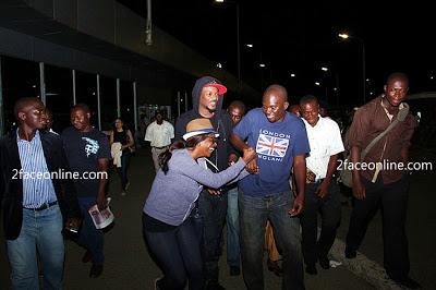 2face and Annie Idibia Return To Nigeria from Their Dubai Honeymoon