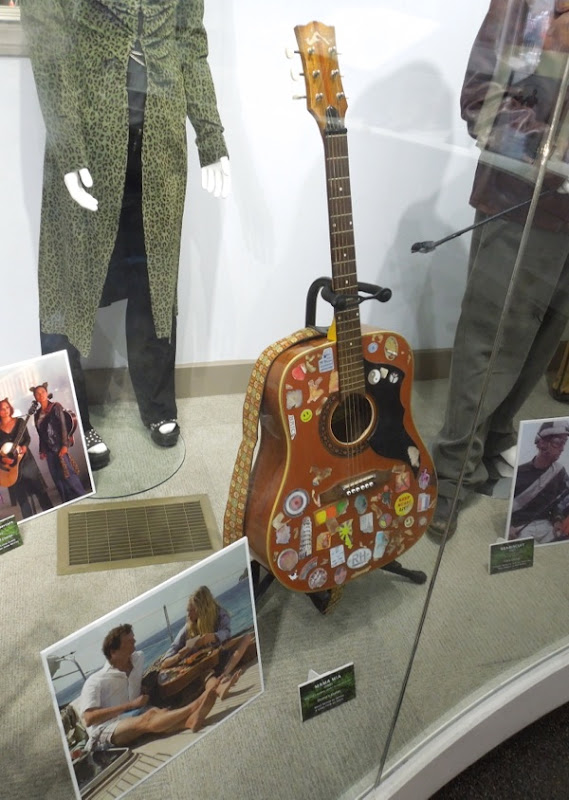 Donna's guitar prop Mamma Mia Movie