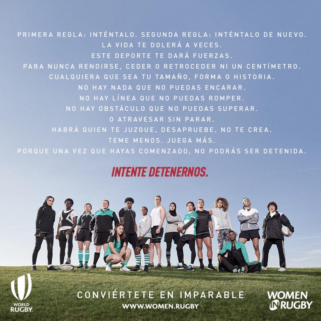 #TryAndStopUs #WomenInRugby #RugbyFemenino