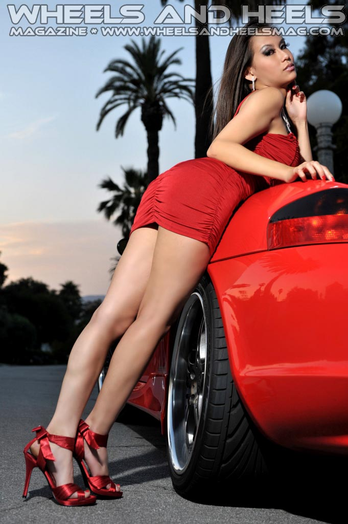 Cover Model Lyna Ly Sparks Wheels And Heels Magazine