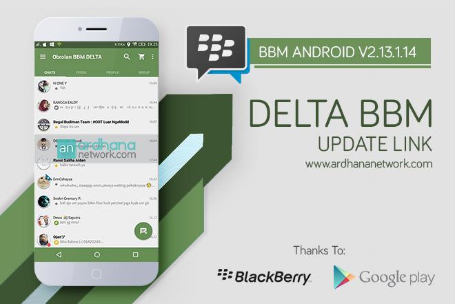 Delta BBM V3.5.0i - BBM MOD Android Full Fitur